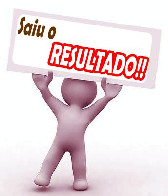 SAIU O RESULTADO!